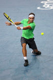 Rafael Nadal (SPECIALMENTE) al BNP acquista padronanza di 2009 Fotografia Stock Libera da Diritti