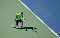 Rafael Nadal während der 2010 US öffnen sich Stockfotos