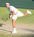 Rafael Nadal Wimbledon Tennis Royalty Free Stock Photography
