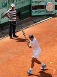 Rafael and Tony Nadal (ESP) at Roland Garros 2011 Royalty Free Stock Images