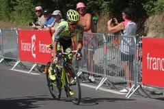 Rafal Majka wins in Cauterets Stock Photos