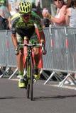 Rafal Majka wins in Cauterets Royalty Free Stock Photo
