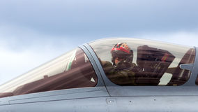 Rafale pilot Royalty Free Stock Images