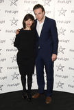 Rafe Spall, Sally Hawkins Royalty Free Stock Images