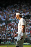Rafeal Nadal - Wimbledon 2010 Royalty Free Stock Photo