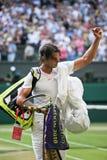 Rafeal Nadal - Wimbledon 2010 Immagine Stock Libera da Diritti
