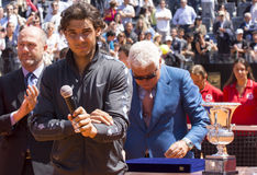 Rafel Nadal royaltyfri bild