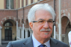 Raffaele Bonanni, leider van CISL Royalty-vrije Stock Foto's