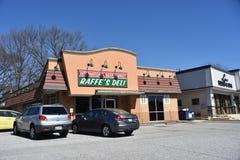 Raffes Feinkostgeschäft, Memphis, TN stockbilder