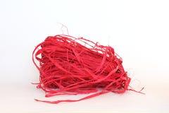 raffia κόκκινο Στοκ Φωτογραφίες