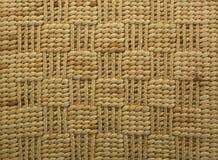 Raffia rug, Backgrounds Stock Image