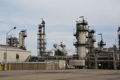 raffinaderi royaltyfri foto
