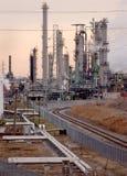 raffinaderi för 2 complex Arkivfoto