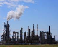 raffinaderi för gasolja Royaltyfria Bilder
