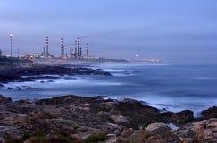 raffinaderi för olja 2 royaltyfria foton