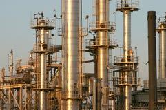 raffinaderi för olja 4 Arkivbild