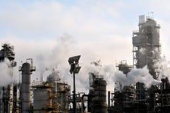 raffinaderi för olja ii Arkivfoto