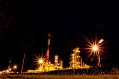 Raffinaderi. Ryssland Yaroslavl Fotografering för Bildbyråer