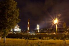 Raffinaderi. Ryssland Yaroslavl Royaltyfri Foto