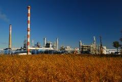 Raffinaderij Royalty-vrije Stock Foto's