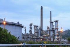 Raffinaderij in petrochemisch Thailand royalty-vrije stock foto's