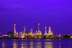 raffinaderiskymning Royaltyfria Bilder