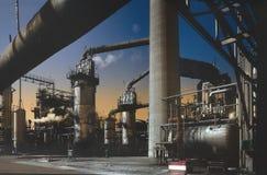 Raffineria Fotografia Stock Libera da Diritti