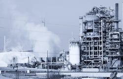 Raffineria di petrolio Immagine Stock Libera da Diritti