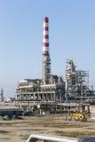 Raffineria di petrolio fotografia stock