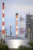 Raffineria di petrolio Fotografia Stock Libera da Diritti