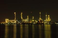 Raffineria di petrolio a Bangkok, TAILANDIA Immagini Stock Libere da Diritti