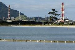 Raffineria di petrolio del punto di Marsden Immagine Stock Libera da Diritti