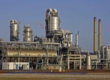 Raffineria di petrolio vicino a Rotterdam Fotografia Stock