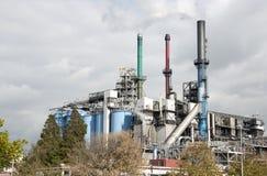Raffineria nei Paesi Bassi del europoort Immagini Stock