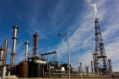 Raffineria occupata della fabbrica Immagine Stock