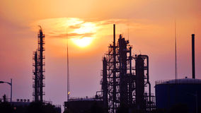 Raffinerie Lizenzfreies Stockbild