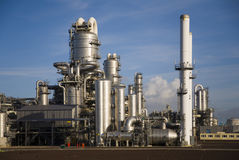 Raffinerie 14 lizenzfreies stockbild