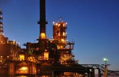 Raffinerie. Lizenzfreie Stockfotografie