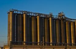 Raffinerie 2 Photo libre de droits