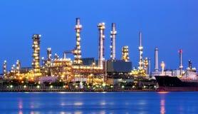 Raffinerie. stockbild