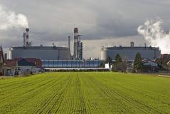 Raffinerie Lizenzfreie Stockfotografie