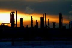 Raffinerie lizenzfreies stockfoto