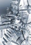 Raffinerie Stockfoto
