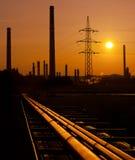 raffinerie Stockfotos