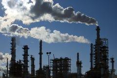 Raffinerie dans l'action Photographie stock libre de droits