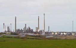 Raffinerie de pétrole Image stock