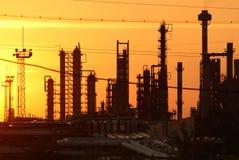 Raffinerie de pétrole Images stock
