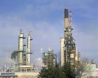 Raffinerie de pétrole dans Sarnia, Canada Photos stock