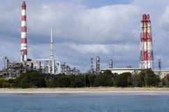 Raffinerie de pétrole de point de Marsden Image libre de droits