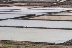 Raffinerie de sel Photo libre de droits